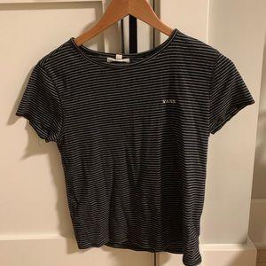 vans striped t-shirt
